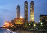 Colombo City Night view